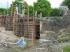 werken aan de sluis, mei 2011, foto Rik Desmet