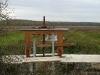 de \'moine\' staat er terug, het uitzicht zoals het vroeger was, 29 oktober 2011, bijna klaar voor het water...foto Rik Desmet